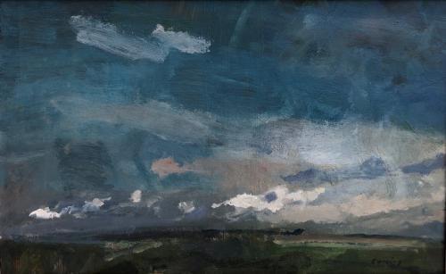 Cloud Formation, Fred Cuming, RA (b.1930)