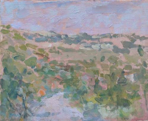 Vineyard, South of France, Diana Armfield, R.A. (b.1920)