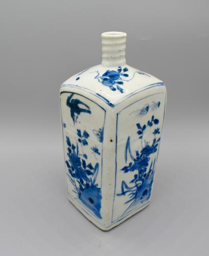 Wanli Square bottle vase