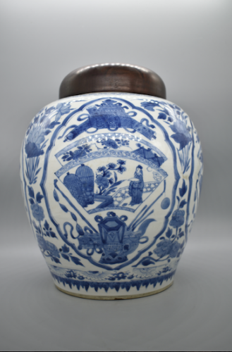 Blue and White porcelain - Kangxi 1662-1722