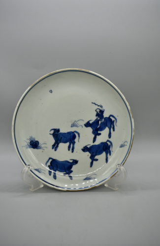 Blue and White porcelain - C.1625