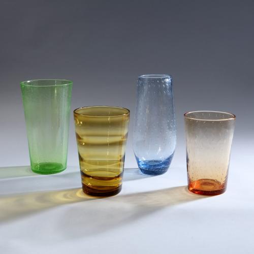 A Group of Whitefriars Glass Vases