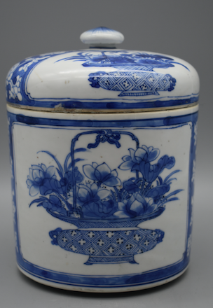 Blue and White Porcelain - Kangxi Period