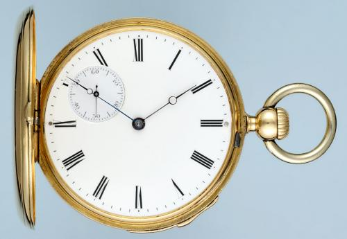 Early Keyless Quarter Repeater by Patek Philippe
