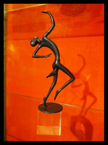 Richard Rohac (1906 - 1956) Art Deco Africanist Bronze Sculpture
