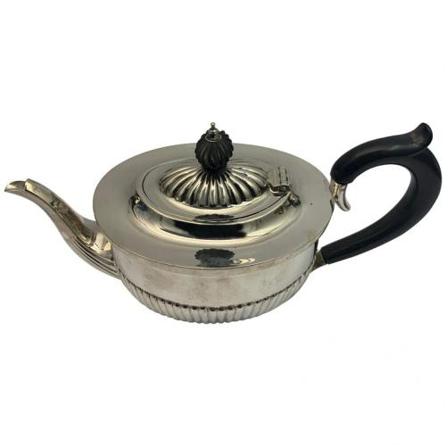 19th Century Silver Deakin and Deakin Teapot