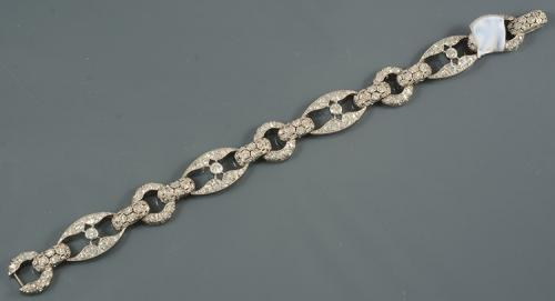 Diamond Platinum Wearable Bracelet