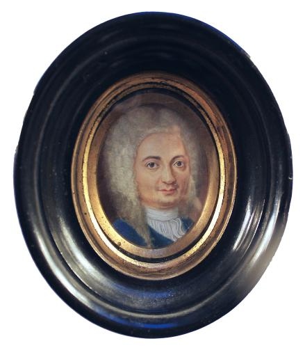 A Gentleman Said To Be Jimmy Thomson, The Actor, English School, Circa 1740