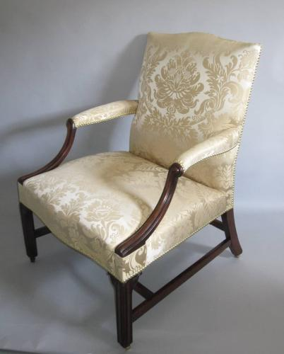 18th Century Chippendale period Gainsborough chair, circa 1770