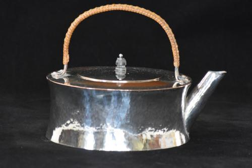 Keswick School of Industrial Arts Arts and Crafts silver plate Kettle