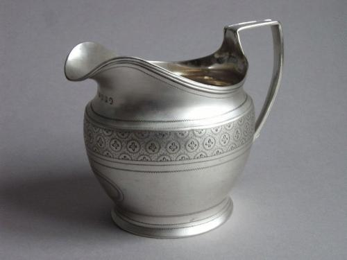 A George III Cream Jug made in London in 1806 by Alexander Field