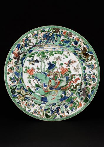 Famille Verte and Polychrome - Kangxi 1662-1722