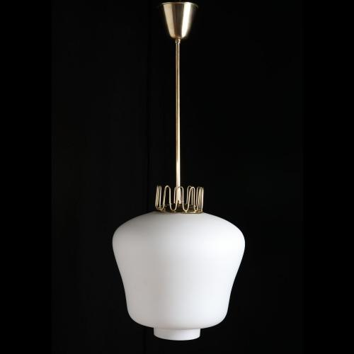 A 1940s Swedish Modern Ceiling Lamp