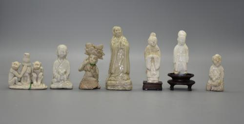 Collection of Miniature Ding-Type Figures