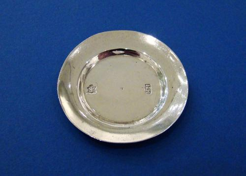German Silver Miniature Plate