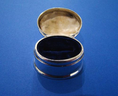 Edwardian Silver Ring Box