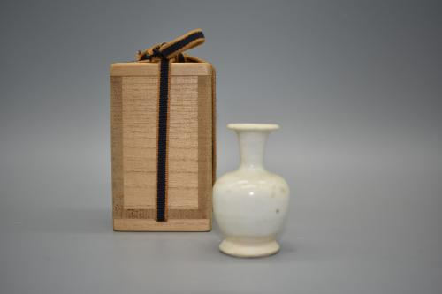 A Glazed Whiteware Miniature Vase