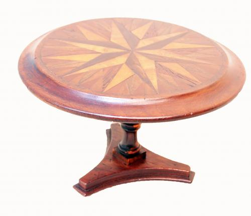 Mid-19th Century Specimen Wood Miniature Centre Table (England, circa 1860)