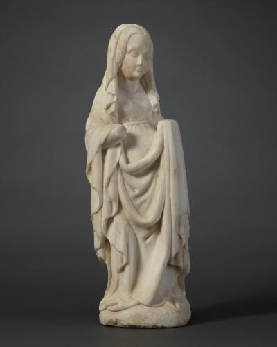 Mary Magdalene, White marble Northern Italy, c. 1400