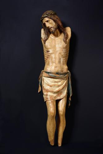 Cristo Morto, Attributed to Urbanino da Surso (c. 1383 – Pavia – c.1461-1464)