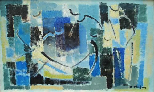 Composition by Alfred Vachon (1907 – 1994)