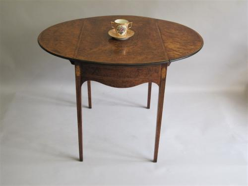 18th Century yewwood Pembroke table.
