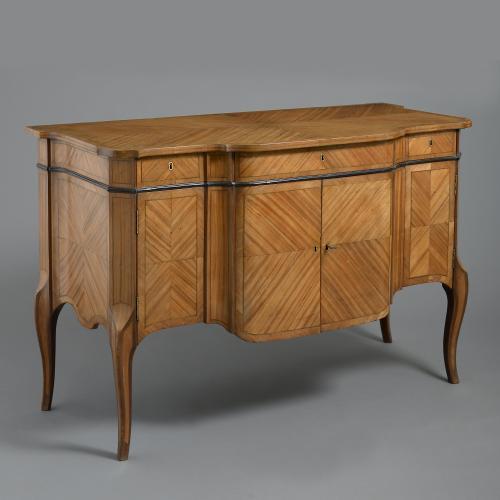 George III Satinwood Commode