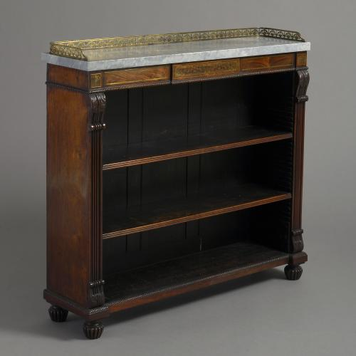 Regency Rosewood Bookcase