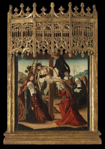 The Descent from the Cross, Francisco de Osona  (c. 1465 – Valencia – c. 1514)