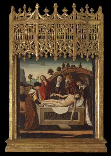The Burial of Christ, Franciso de Osona (c. 1465 – Valencia – c. 1514)
