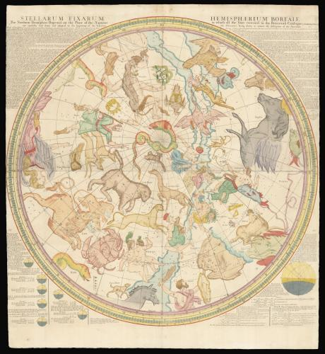 The most up to date rendering of the Heavens at the beginning of the eighteenth century