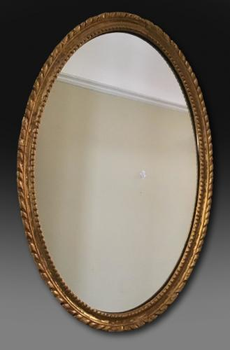 Mid 19th century giltwood mirror