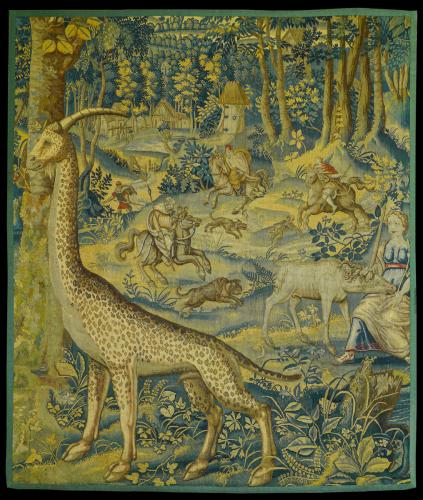 A Fascinating 16th Century Flemish Tapestry Panel