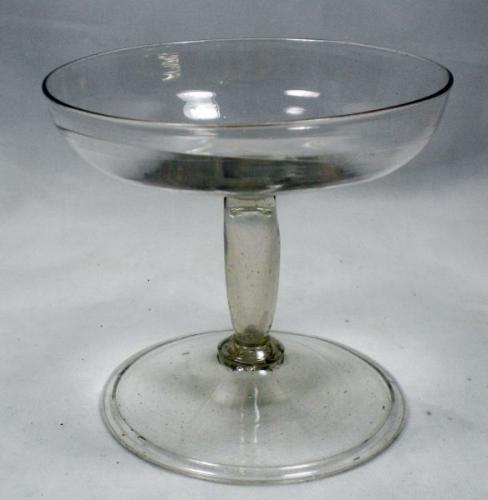 A facon de Venise wine glass late 16th early 17th century