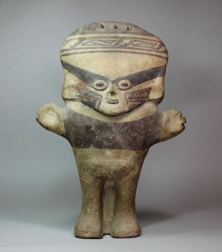 Pottery Columbian figure/doll, 13th century