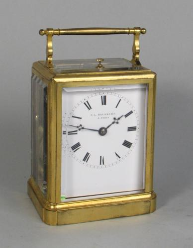 Paul Garnier Series I carriage clock