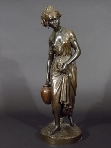 Nubian Water Carrier by Charles Cumberworth