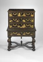 An Early 18th Century Chinese Chest on Stand