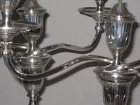 PAIR 18TH CENTURY OLD SHEFFIELD PLATE CANDELABRA. CIRCA 1780.