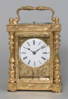 Drocourt Empire Style Carriage Clock