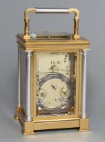 Delépine-Barrois striking carriage clock rear