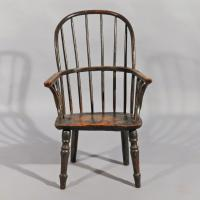 A Late 18th Century Childs Windsor Chair in Ash