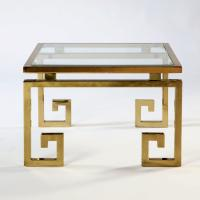 A Brass Occasional Table in the manner of Maison Jansen