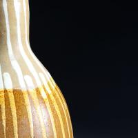 An Art Pottery Lamp with Drip Glaze