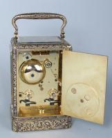 Gontard & Bolviller carriage clock backplate