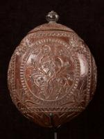 Carved and decorated coconut_c